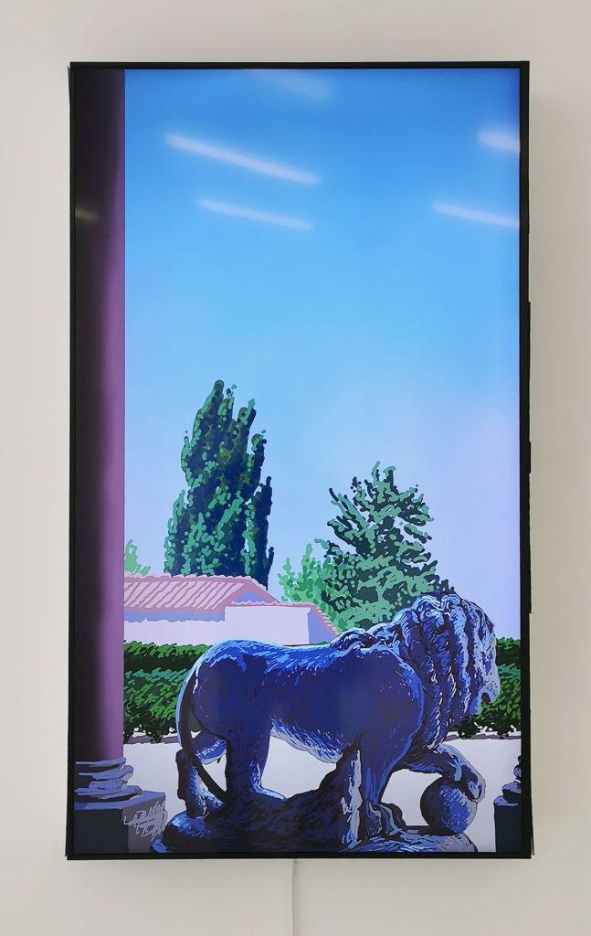Louise Sartor - Cent vues de la Villa Médicis, 2019-2020 - Des Vies - ¡ Viva Villa ! 2020 - Les vies minuscules à la Collection Lambert, Avignon