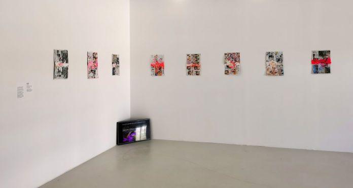 Mimosa Echard - POM, Without you, 2020 et Powder room, 2019 - Des Vies - ¡ Viva Villa ! 2020 - Les vies minuscules à la Collection Lambert, Avignon