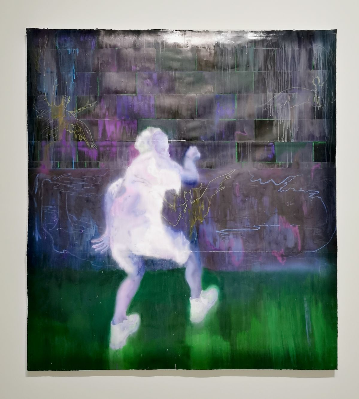 Sedrick Chisom - In The 22nd Century Ghosts N Goblins Walked In This Land, 2019 - Possédé·e·s au MO.CO. Panacée