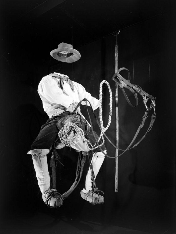 Un gardian en selle, Camargue, fin du XIXe siècle © Mucem
