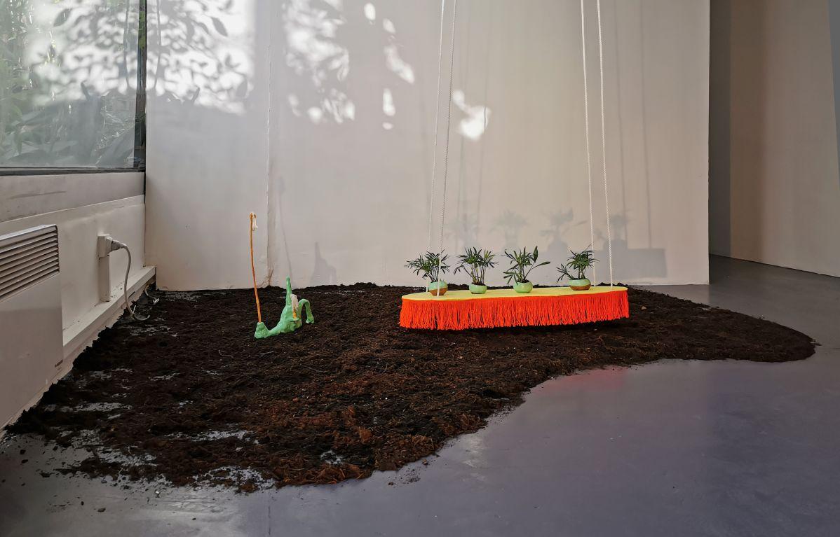 Fabienne Guilbert Burgoa - Noeuds sur fikir, 2019 et Lloverá mi voz, 2020 - La Relève III - «Habiter» - art-cade - Marseille