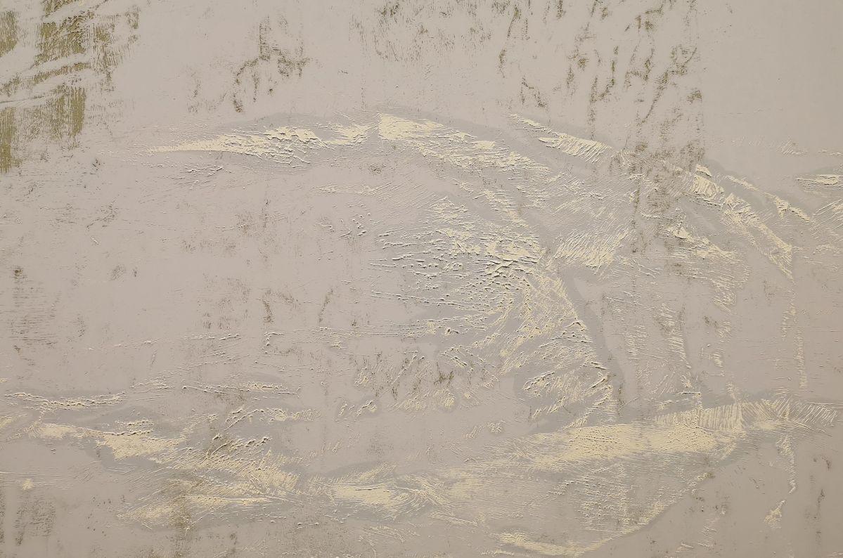 Gérard Traquandi, Cascavalier, 2020 (Détail) - «Ici, Là» au Musée Cantini - Marseille