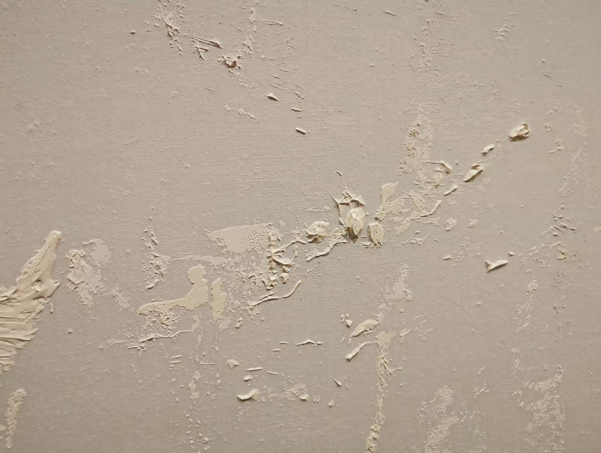 Gérard Traquandi, Jour blanc, 2020 (détail 3) - «Ici, Là» au Musée Cantini - Marseille