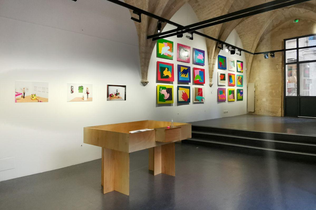 Stéphane Kouchian - «Petroleum» à l'Espace Saint-Ravy – Montpellier - Vue de l'exposition