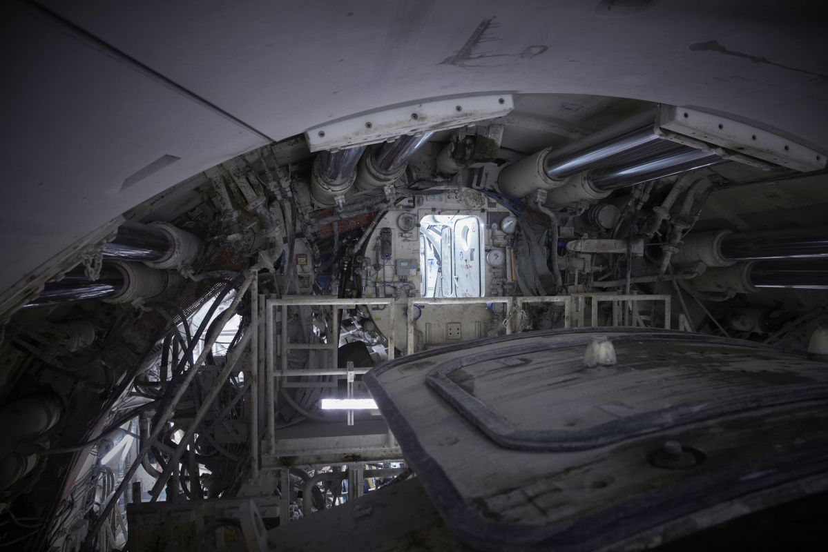 Brodbeck & de Barbuat, Tunnelier Koumba - NGE - Grand Paris 2020, production Mucem © Brodbeck & de Barbuat ; NGE - Grand Paris 2020