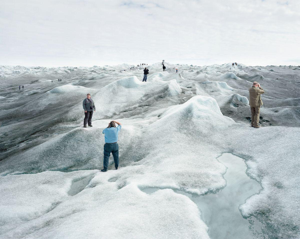 Olaf Otto Becker, Point 660, 2, 082008 67°09'04''N, 50°01'58''W, Altitude 360M, série Above Zero [Au-dessus de zéro], 2008 © Olaf Otto Becker