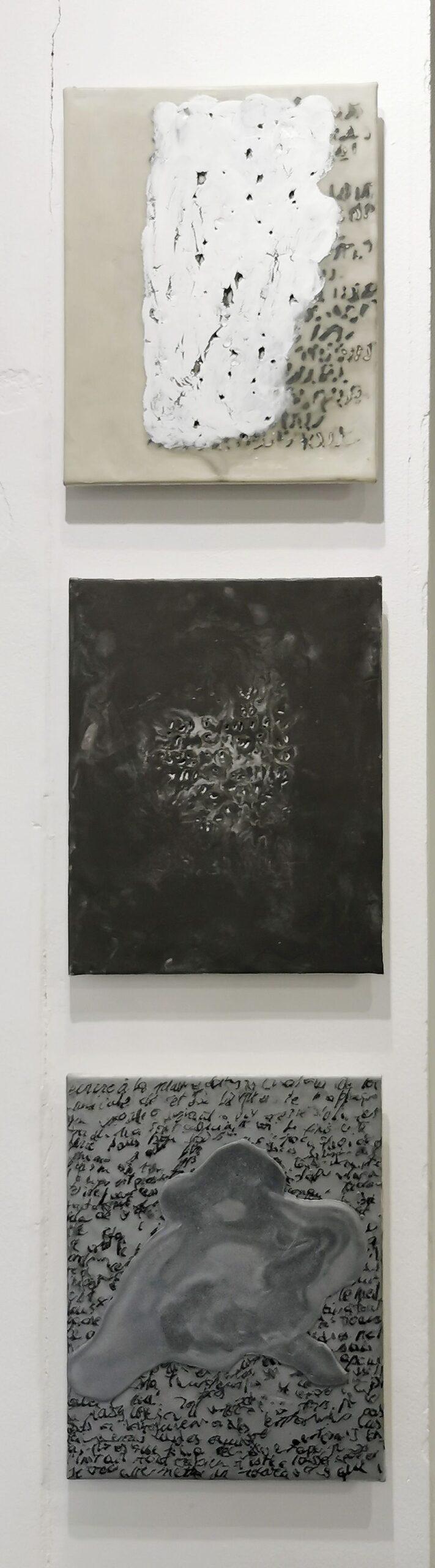 Pascale Hugonet - Croquis, 2018 - Traces à la N5 Galerie - Montpellier