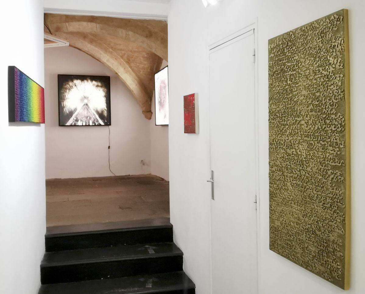 Pascale Hugonet et Patrice Barthès - Traces à la N5 Galerie - Montpellier