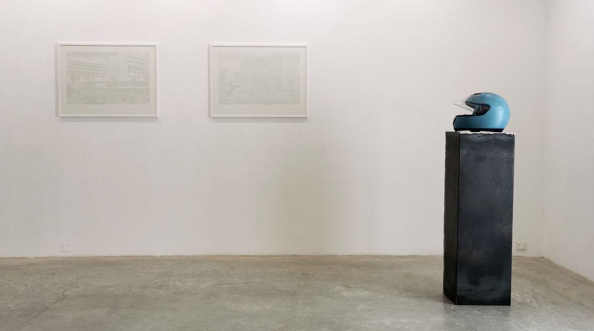 Paul Chochois - Crédit Agricole 2, Le sans souci et AMERICANA, 2021 - «Crossover» à la Galerie Vasistas - Montpellier