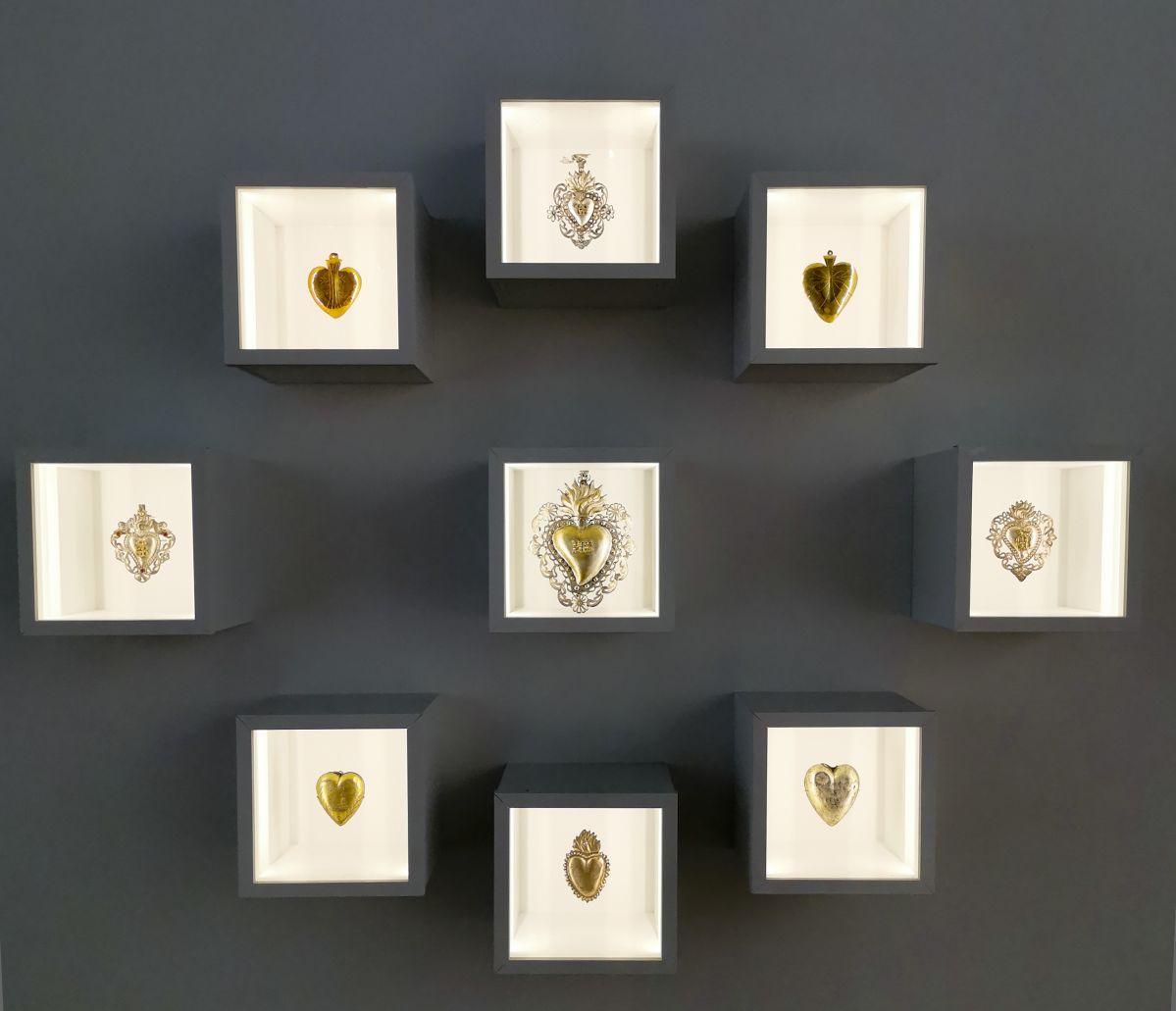Ex voto - Jeff Koons au Mucem - Œuvres de la Collection Pinault - Salle 5 - vue de l'exposition