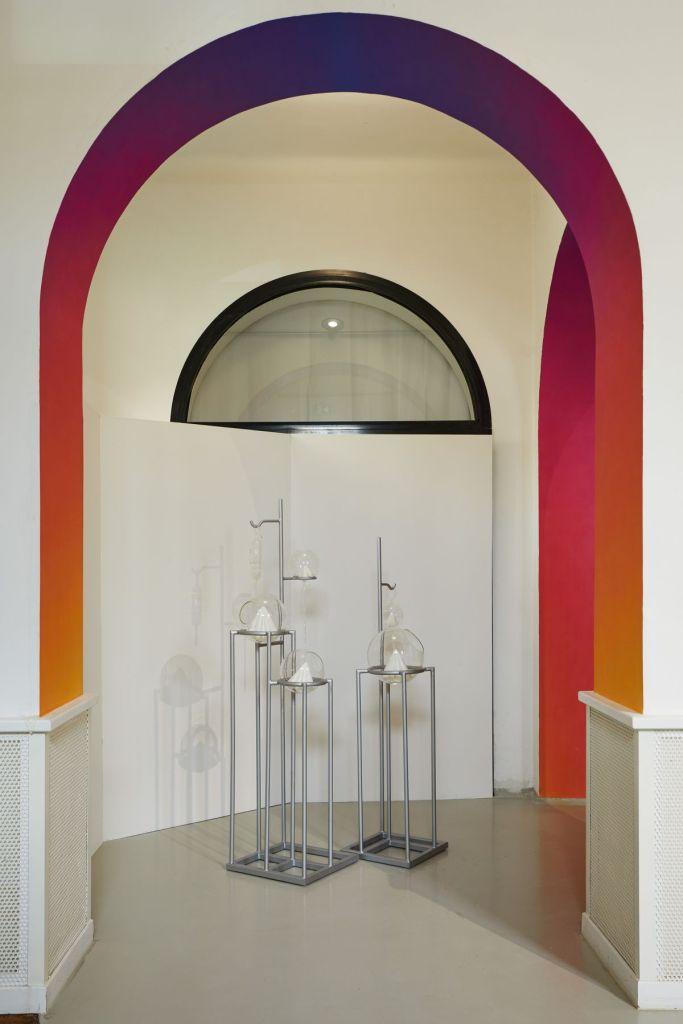 Hélène Bellenger - Sans titre (gradient n°018056839), 2021 et Sans titre (compositions positives), 2021 ©jcLett