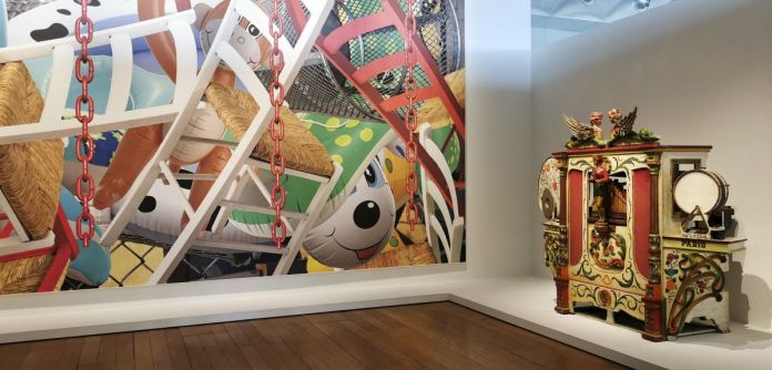 Jeff Koons au Mucem - Œuvres de la Collection Pinault - Salle 10 - vue de l'exposition