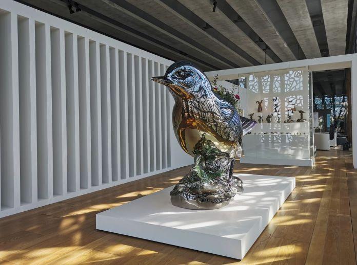 Jeff Koons au Mucem - Œuvres de la Collection Pinault - Salle 13 - vue de l'exposition