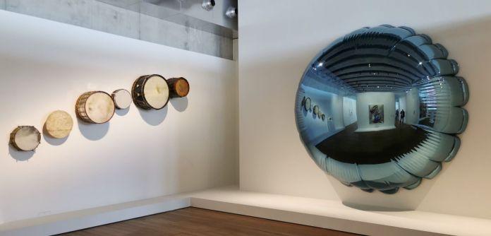 Jeff Koons au Mucem - Œuvres de la Collection Pinault - Salle 6 - vue de l'exposition