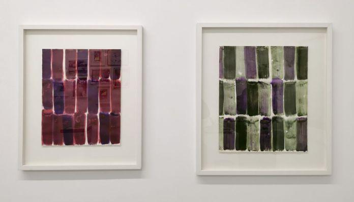 Serge Fauchier - Sans titre et Sans titre, 1974 - Aquaplaning - Carte Blanche à Nicolas Daubanes à la Galerie ALMA