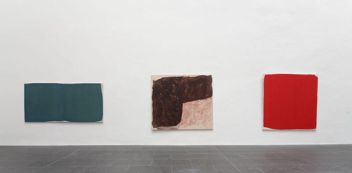 Stéphane Bordarier - 5.VII.2011 - 1991 et IX.2000(3) Musée Fabre - Accrochage dans l'atrium Richier 2021 - Photo Frédéric Jaulmes