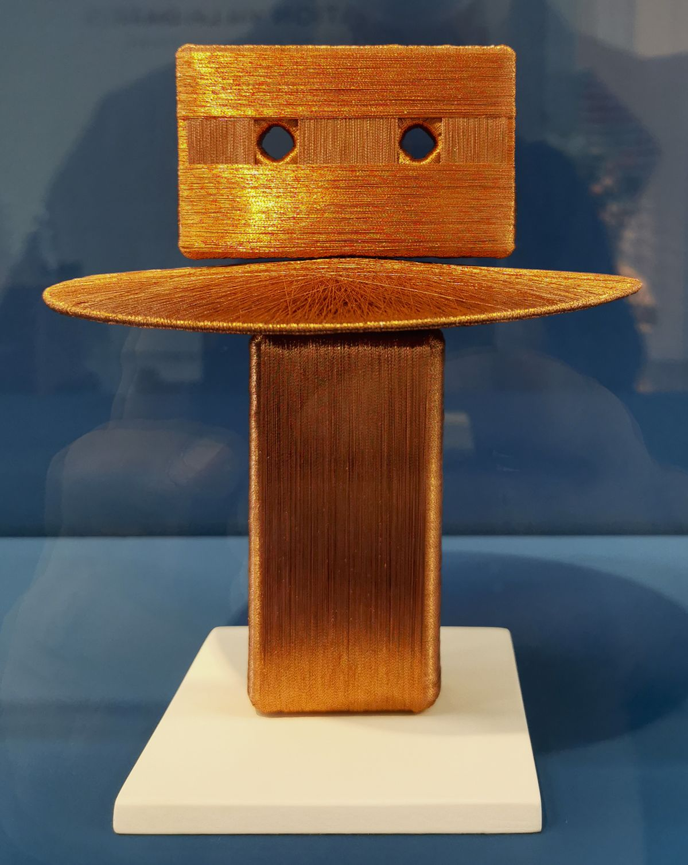 Alice Anderson - Spiritual machines #18, 2008 - Sculpture en fête ! Les dix ans de la Collection Villa Datris