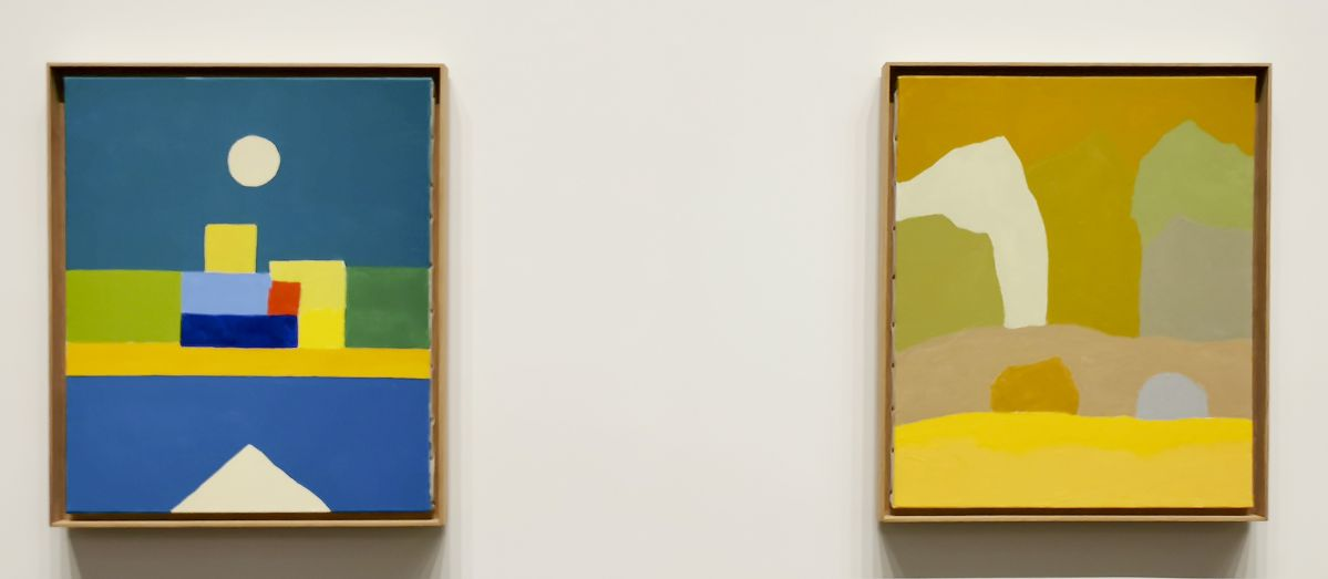 Etel Adnan - Sans titre, 2010-2015 - The Impermanent Display , Collection Maja Hoffmann - Luma Arles 2021