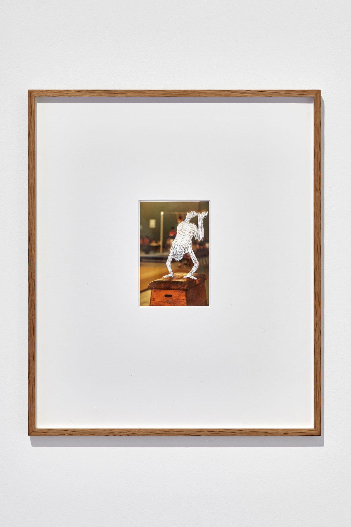 Gilles Pourtier - Deviens ce que tu hais (fils, frère , père) 2014 - Rodéo Sauvage au Château de Servières ®Jean-christophe Lett