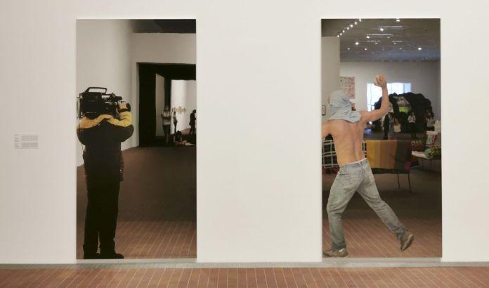 Michelangelo Pistoletto - Video ripresa (Prise de vue), 2008 et Sans titre, 2008 - The Impermanent Display , Collection Maja Hoffmann - Luma Arles 2021