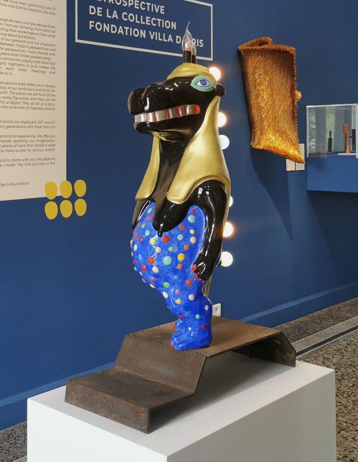 Niki de Saint Phalle - Blue Goddess Thoëris Hippolamp, 1990 - Sculpture en fête ! Les dix ans de la Collection Villa Datris