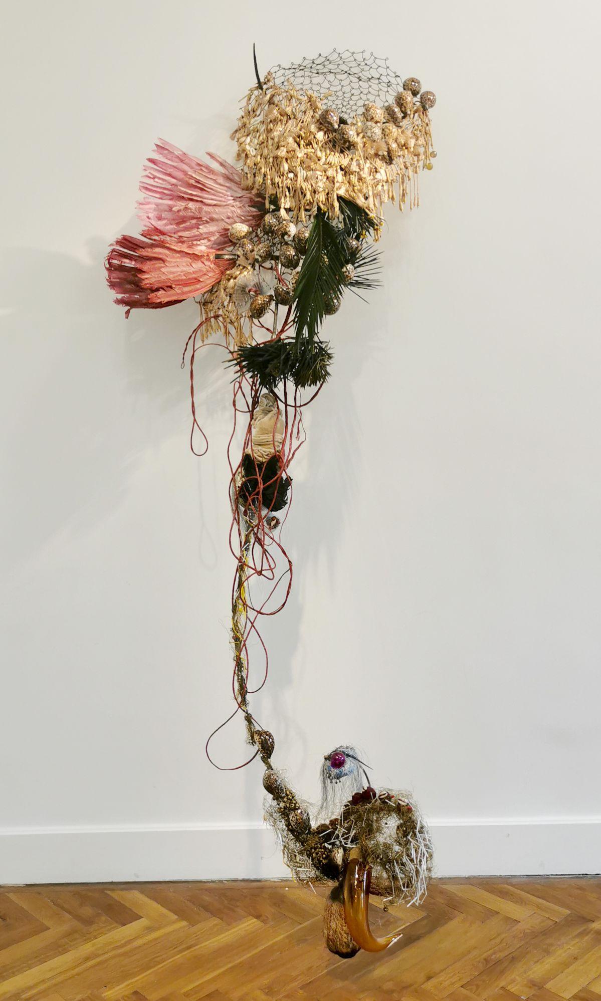 Rina Banerjee - «Returned from the Amazons…», 2016 - Sculpture en fête ! Les dix ans de la Collection Villa Datris