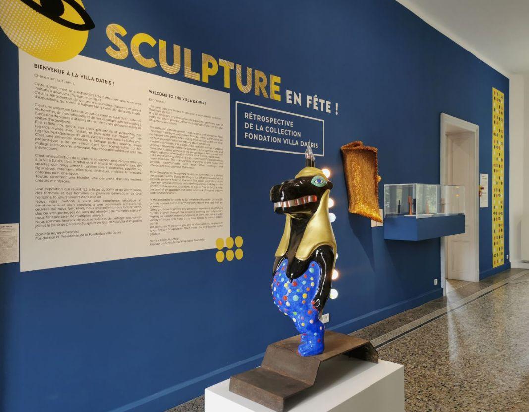 Sculpture en fête ! Les dix ans de la Collection Villa Datris - Vue de l'exposition au rez-de-chaussée