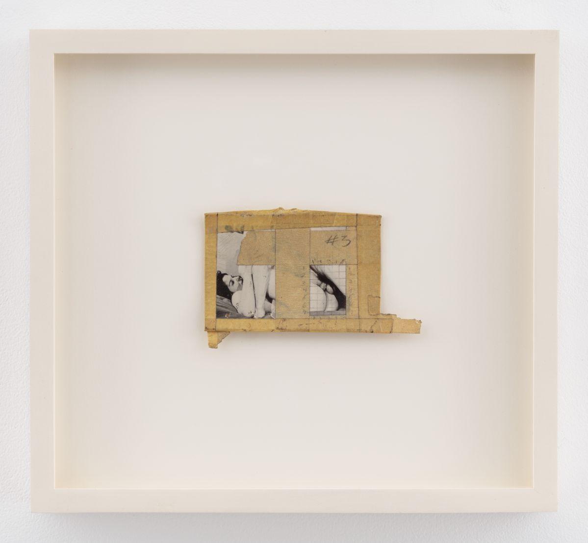 Betty Tompkins - Collage #3, 1970 - Courtesy de l'artiste, P•P•O•W, New York et rodolphe janssen, Bruxelles © Betty Tompkins