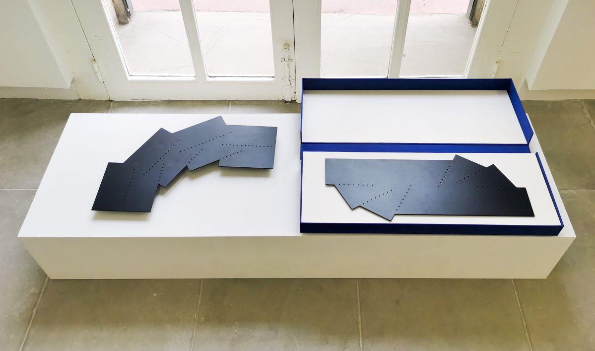 Mehdi Moutashar - Racines Carrées à la Galerie ALMA - Montpellier - vue de l'exposition