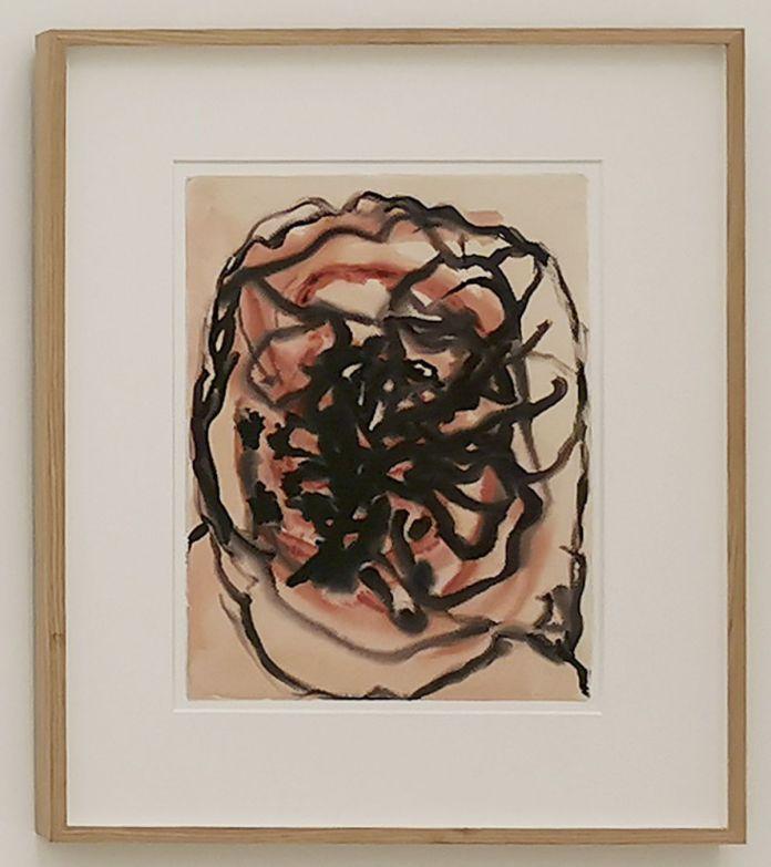 Henri Michaux, Sans titre, vers 1948-1949 - «United States of Abstraction» au Musée Fabre