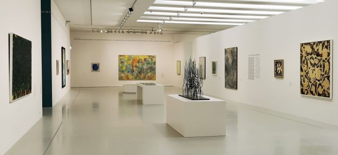 United States of Abstraction - Paris est une île - l'abstraction géographique - Une « peinture céleste » au Musée Fabre