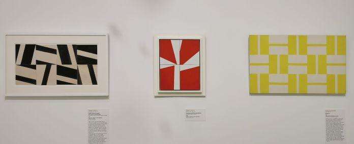 United States of Abstraction - Renouveaux américains de l'abstraction géométrique - Contourner la composition ; hasard et modulesau Musée Fabre