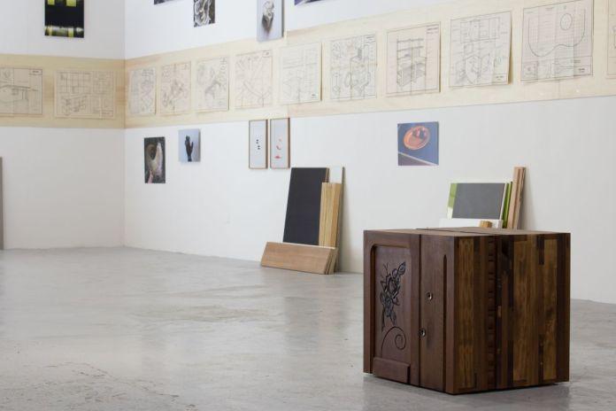 Vue de l'exposition Memories Still Green, Vidéochroniques, juin 2021. Photo  Vidéochroniques