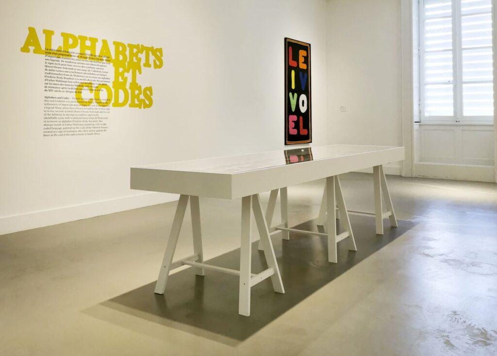 Alphabets et Codes - Cosmogonies - Zinsou, une collection africaine au MOCO-Hôtel des collections