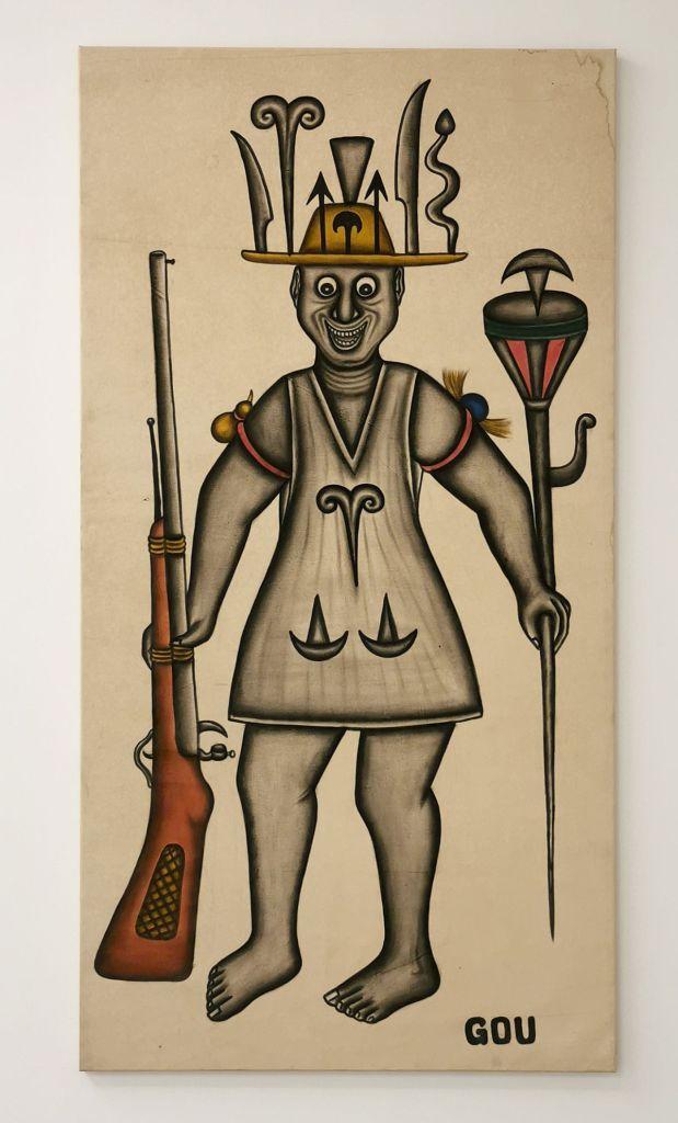 Cyprien Tokoudagba - Gou, 2005 - Mythologies et symboles - Cosmogonies - Zinsou, une collection africaine au MOCO-Hôtel des collections