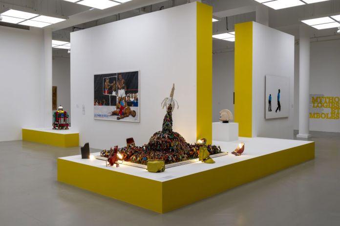 Distance critique - Cosmogonies - Zinsou, une collection africaine au MOCO-Hôtel des collections. Photo Marc Domage