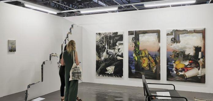 Exo Exo - Gaspar Willmann - Art-o-rama 2021 à la Cartonnerie - Friche la belle de Mai