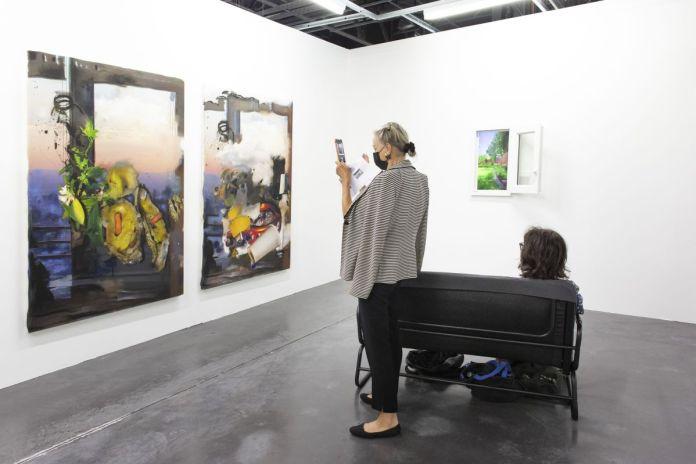 Exo Exo - Gaspar Willmann - Art-o-rama 2021 à la Cartonnerie - Friche la belle de Mai Photo © Margot Montigny