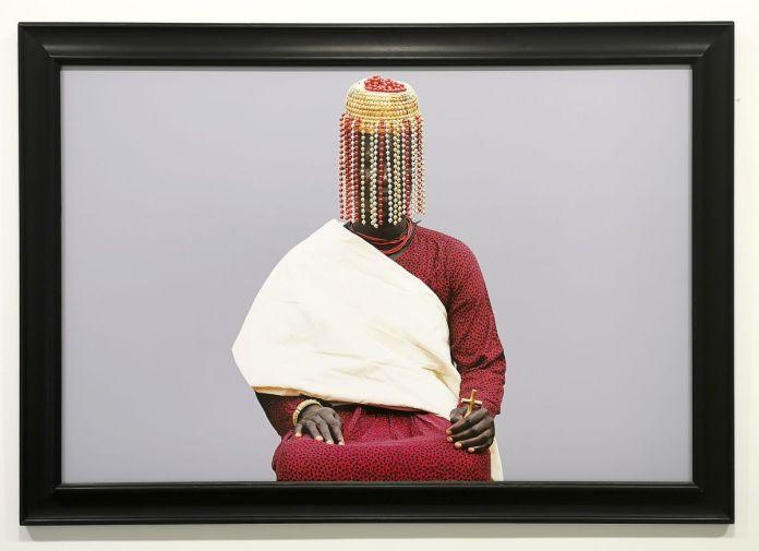 Ishola Akpo - projet AGBARA Women serie, Lyà Nlà (la reine mère en yoruba), 2020 - Identité et Mémoire - Cosmogonies - Zinsou, une collection africaine au MOCO-Hôtel des collections