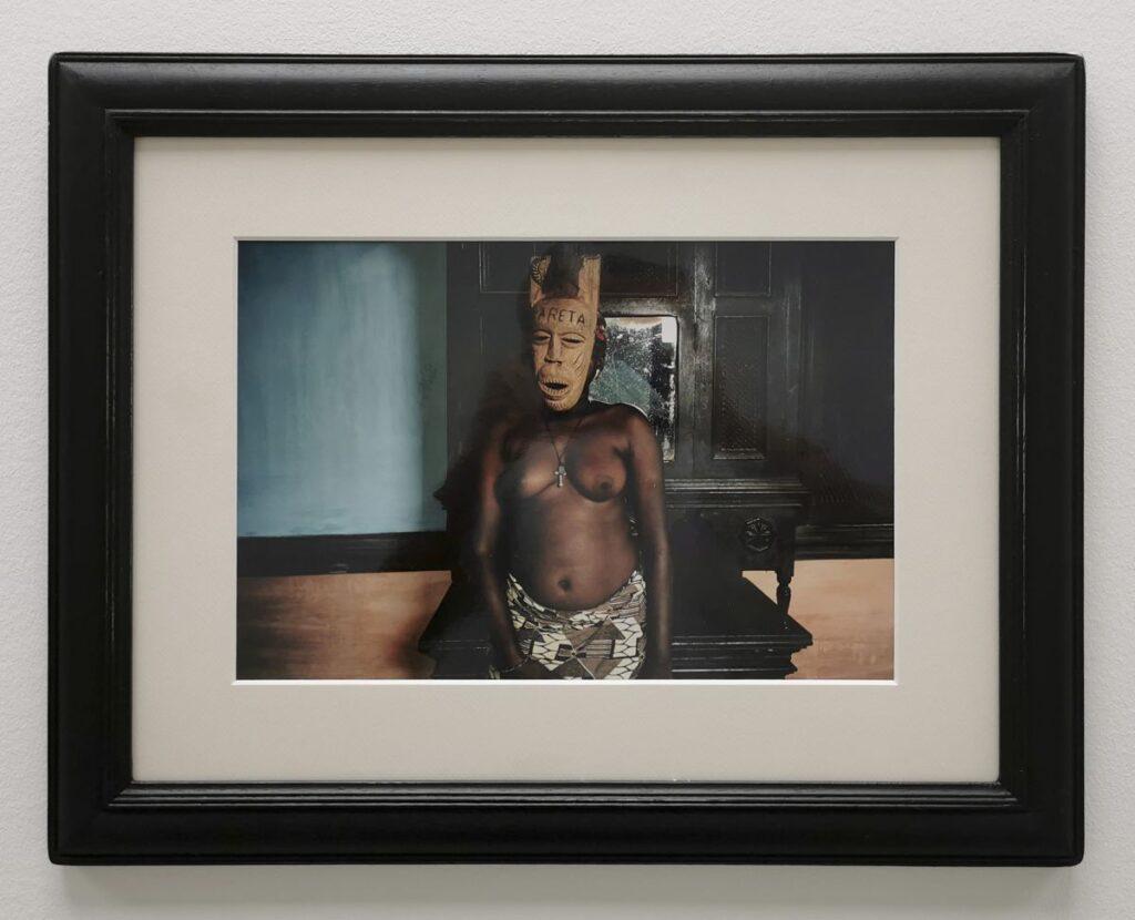 Leonce Raphaël Agbodjelou - Sans titre, série Demoiselles de Porto-Novo, 2012 - Métamorphoses - Cosmogonies - Zinsou, une collection africaine au MOCO-Hôtel des collections