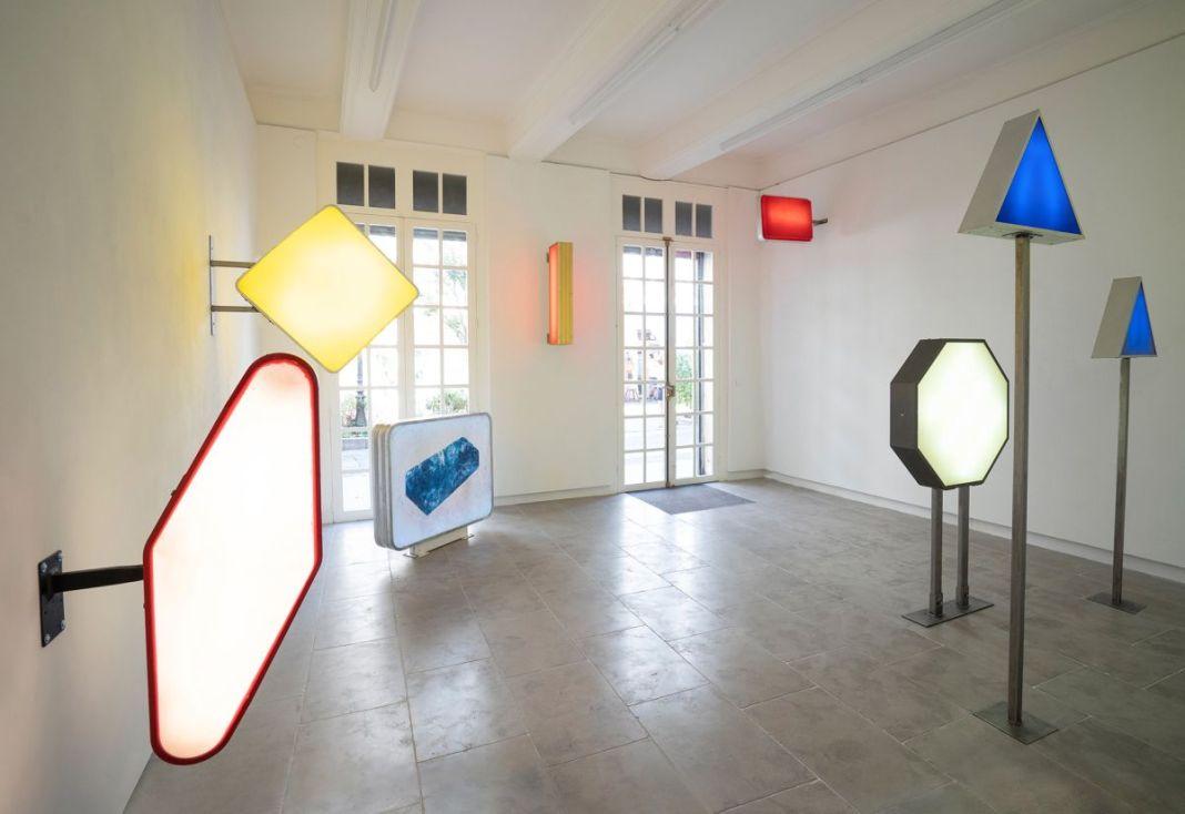 Mona Young-eun Kim - Vue de l'exposition Doublage à la galerie ALMA - Montpellier- Photo Aloïs Aurelle