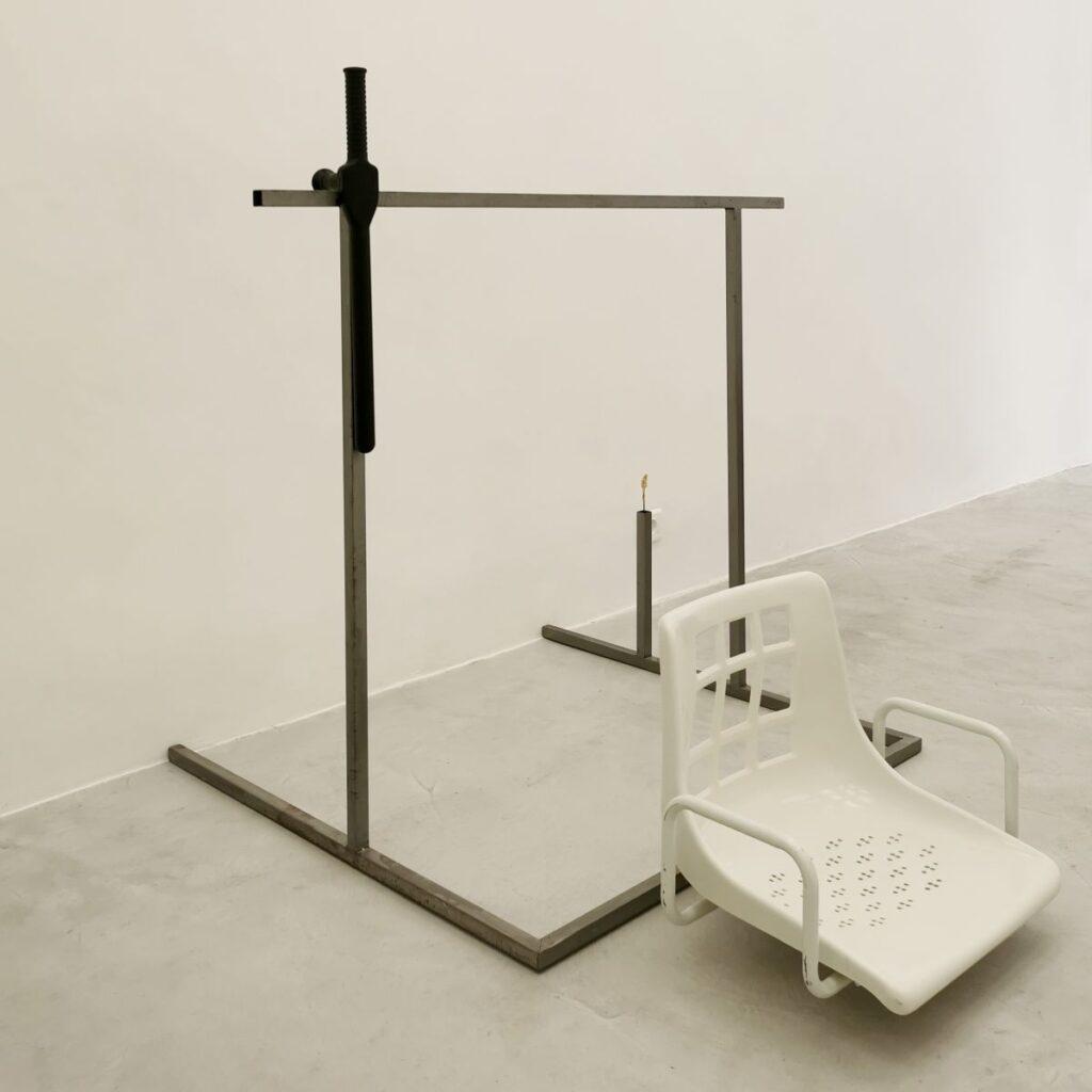 Samir Laghouati-Rashwan - Fragments de l'installation Dead Park, 2018-2021 - Hijack City à la galerie de la Scep - Marseille