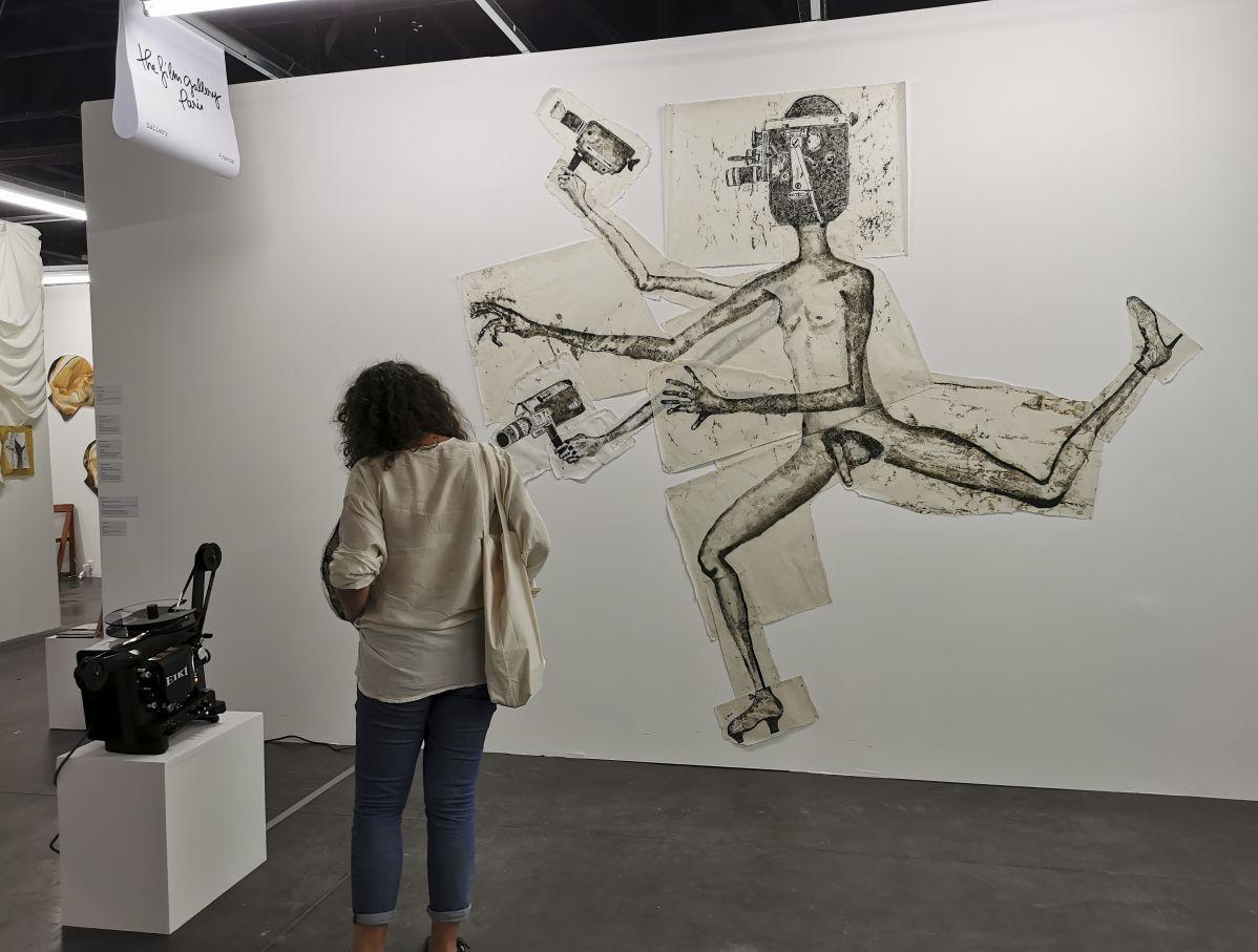The Film Gallery - Marie Losier - Art-o-rama 2021 à la Cartonnerie - Friche la belle de Mai