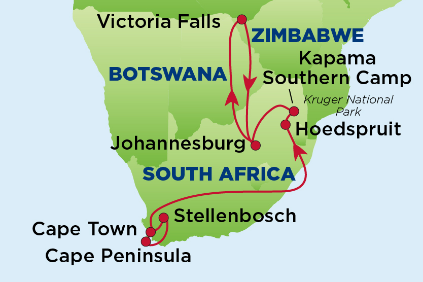 EJ South Africa and Victoria Falls 2020