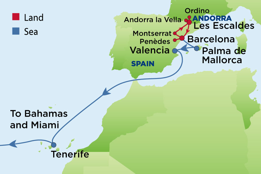 Journey To Spain Andorra And The Pyrenees Enrichment Journeys