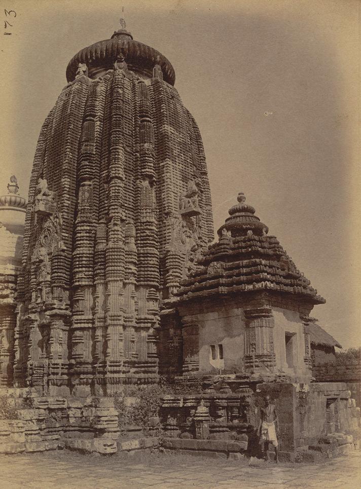 Tempio Anantha Vasudeva a Bhubaneshwar. Foto del 1869 (©British Library)