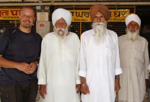 Foto con Sikh