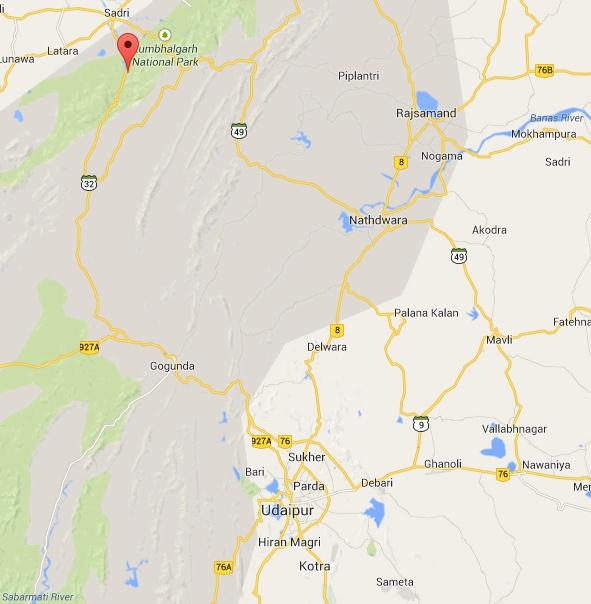 mappa ranakpur