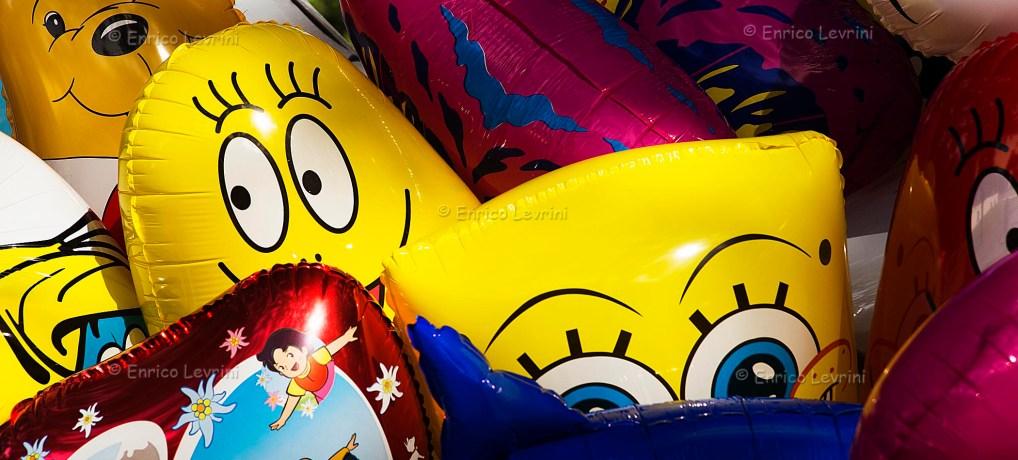 Balloons at Villa Borghese