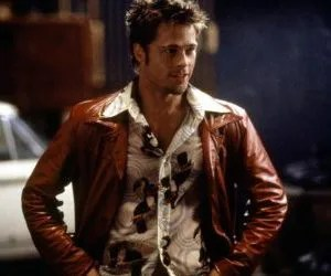 Incontri al buio-Brad Pitt in Fight Club